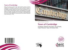 Bookcover of Town of Cambridge