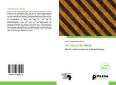 Bookcover of Annemarie Auer