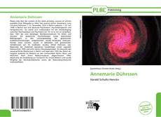 Bookcover of Annemarie Dührssen