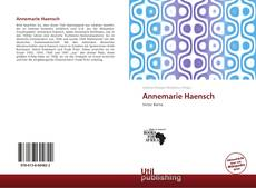 Bookcover of Annemarie Haensch