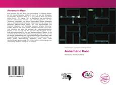 Bookcover of Annemarie Hase