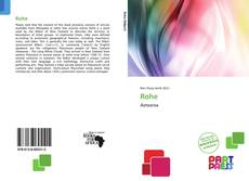 Bookcover of Rohe