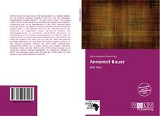 Bookcover of Annemirl Bauer