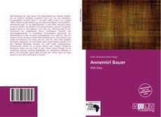 Обложка Annemirl Bauer