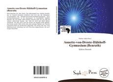 Bookcover of Annette-von-Droste-Hülshoff-Gymnasium (Benrath)