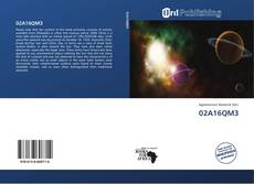Bookcover of 02A16QM3