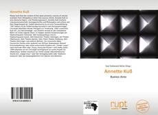 Capa do livro de Annette Kuß