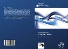 Bookcover of Natural Timbre
