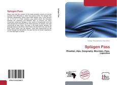 Обложка Splügen Pass