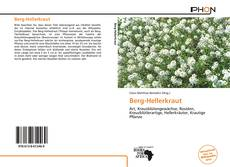 Bookcover of Berg-Hellerkraut