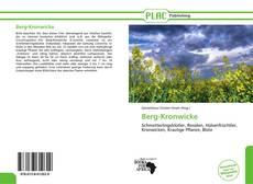 Buchcover von Berg-Kronwicke