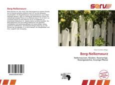 Buchcover von Berg-Nelkenwurz