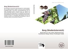 Buchcover von Berg (Niederösterreich)
