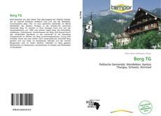 Berg TG kitap kapağı