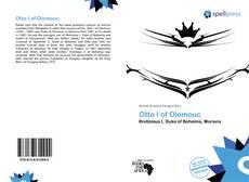 Bookcover of Otto I of Olomouc