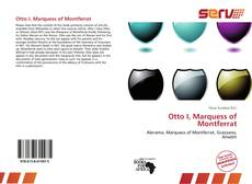 Portada del libro de Otto I, Marquess of Montferrat