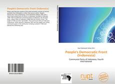 Bookcover of People's Democratic Front (Indonesia)