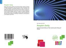 Bookcover of People's Daily