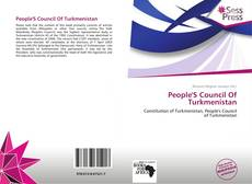 People'S Council Of Turkmenistan kitap kapağı