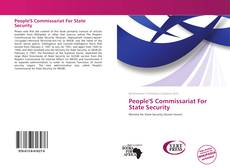 People'S Commissariat For State Security kitap kapağı