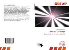 Portada del libro de Annett Günther