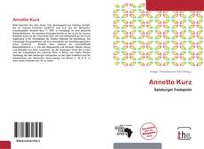Bookcover of Annette Kurz