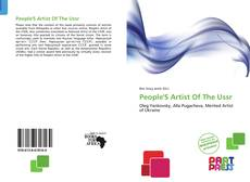 Обложка People'S Artist Of The Ussr