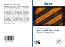 Annemarie Adlassnig kitap kapağı