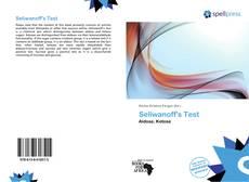 Seliwanoff's Test的封面