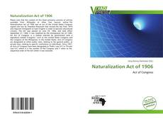 Обложка Naturalization Act of 1906