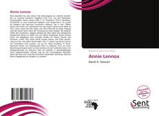 Bookcover of Annie Lennox