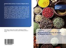 Antimicrobial activity of seeds of Nigella Sativa L. kitap kapağı