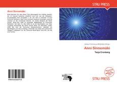 Anni Sinnemäki kitap kapağı