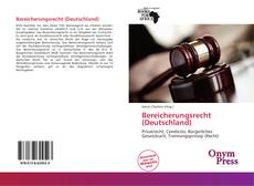 Couverture de Bereicherungsrecht (Deutschland)