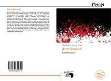 Bookcover of Anni Schaad