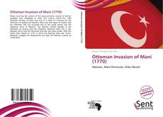 Обложка Ottoman Invasion of Mani (1770)