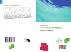Couverture de Nature Biotechnology