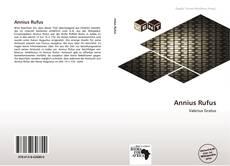 Bookcover of Annius Rufus