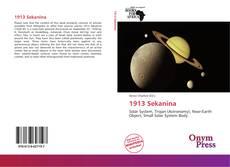 Capa do livro de 1913 Sekanina