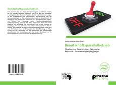 Bookcover of Bereitschaftsparallelbetrieb