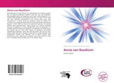 Annie von Baudissin的封面