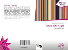 Bookcover of Nature et Paysages