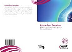 Penumbra: Requiem kitap kapağı