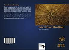 Bookcover of Nature Reviews Microbiology