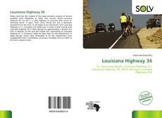 Portada del libro de Louisiana Highway 36