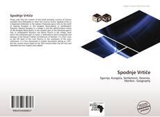 Buchcover von Spodnje Vrtiče