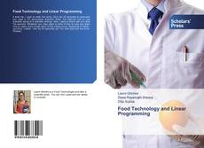 Bookcover of Food Technology and Linear Programming