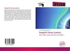 Bookcover of People'S Party (Latvia)