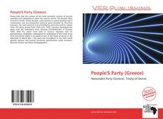 Bookcover of People'S Party (Greece)