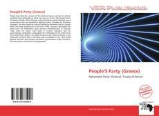 Capa do livro de People'S Party (Greece)